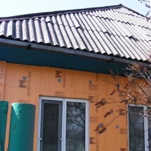 Утепление фасада дома Пеноплексом
